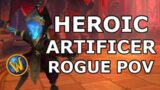 Heroic Artificer Xy'mox Outlaw Rogue POV – World of Warcraft (WoW) Shadowlands Raid Castle Nathria