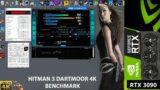 Hitman 3 4K Maximum Settings Dartmoor Benchmark   RTX 3090   5950X