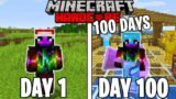 I Survived 100 Days in Hardcore Minecraft…Again
