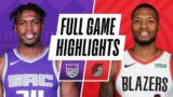 KINGS at TRAIL BLAZERS | FULL GAME HIGHLIGHTS | December 11, 2020