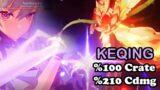 Keqing %100 Crit Rate Worth? High Dps Build! – Genshin Impact