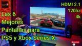 Las 6 mejores pantallas para PS5 y Xbox series x