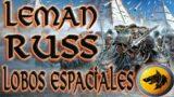 Leman Russ Primarca de los Lobos Espaciales Warhammer 40K