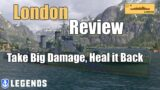 London Premium Ship Review   World of Warships Legends   4k   Xbox Series X PS5 PS4