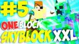 MINECRAFT MA CON UN SOLO BLOCCO A DISPOSIZIONE !! One Block Skyblock EPISODIO 5 XXL