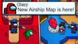 *NEW* AIRSHIP MAP RELEASE DATE! Among Us Update News