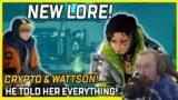 NEW CRYPTO & WATTSON LORE VIDEO! He Tells Wattson Everything! – Apex Legends