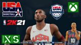 NEXT GEN NBA 2K21 XBOX Series X USA vs USA Gameplay!