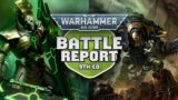 Necrons vs Imperial Knights Warhammer 40k Battle Report Ep 61