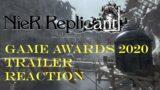 Nier Replicant Game Awards 2020 Trailer Reaction
