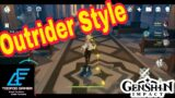 Outrider Style – Wind, Courage And Wings | Genshin Impact Gameplay & Walkthrough For Android & IOS
