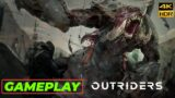 Outriders Gameplay Demo NEW RPG Co op Shooter Game 2021