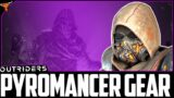 """Outriders : New legendary Pyromancer Set """"The Reforged"""" Is Insane"""