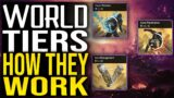 Outriders WORLD TIERS EXPLAINED   REWARDS, LOOT DROPS and DIFFICULTIES