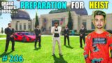 PREPARATION FOR HEIST IN WHITE HOUSE   MY FIRST FACECAM VIDEO   GTA V GAMEPLAY #206