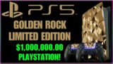 PlayStation 5 Golden Rock Limited Edition | $1,000,000.00 | PS5 News