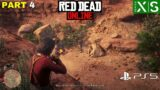 RED DEAD ONLINE Gameplay Part 4 (HD) – PS5, PS4, Xbox, PC   RED DEAD REDEMPTION 2 ONLINE #RDR2