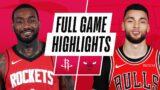 ROCKETS at BULLS | FULL GAME HIGHLIGHTS | December 13, 2020