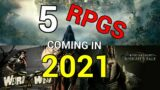 RPGs Coming in 2021