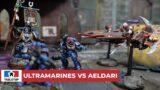 SUMMARY BATTLE REPORT! ULTRAMARINES VS AELDARI | WARHAMMER 40K | GRAND TOURNAMENT