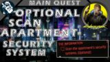 Scan the Apartments Security Systems in Cyberpunk 2077 The Information Quest – Braindance Clues