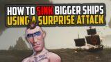 Sea of Thieves: How to Sink Bigger Ships [Sloop Survival]