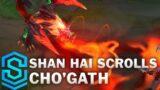 Shan Hai Scrolls Cho'gath Skin Spotlight – Pre-Release – League of Legends