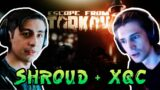 """Shroud And xQcOW Playing A Team In """"Escape From Tarkov"""" ( W/CHAT )"""