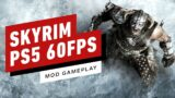 Simple Mod Lets You Play Skyrim on PS5 at 60FPS