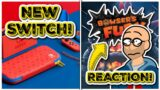 Special Edition New Nintendo Switch! Reacting to Super Mario 3D World + Bowser's Fury Trailer 1/12!