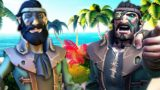 Stealing a Galleons Stash of Skulls with Captain Falcore – Sea of Thieves Highlights