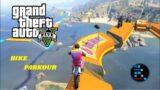 Super Barbadi, funny Bike Parkour With RON | GTA V