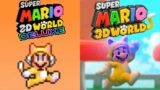 Super Mario 2D World: Deluxe VS Super Mario 3D World | Comparison