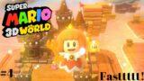 Super Mario 3D World #4 – Full World 4 Gameplay