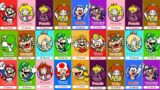 Super Mario 3D World – All New Characters 4K60FPS
