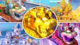 Super Mario 3D World – All Train and Tank Levels (No Damage)