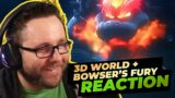 Super Mario 3D World + Bowser's Fury NEW TRAILER Reaction