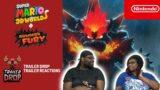 Super Mario 3D World + Bowser's Fury TRAILER REACTION