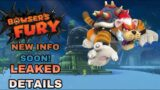 Super Mario 3D world + Bowser's Fury Gameplay leaks, new map, New info Soon!