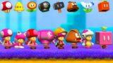 Super Mario Maker 2: Mario 3D World Style – All Toadette Power-Ups!