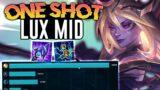 THE BEST LUX MID BUILD FOR SEASON 11! – League of Legends