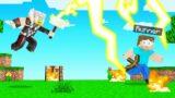 THOR VS SPEEDRUNNER In Minecraft!