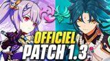 TOUT LE PATCH 1.3 ! Portail XIAO et KEQING, Nouveaux Boss + 3 CODES PRIMO-GEMMES – Genshin Impact