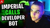 TSM Imperialhal Accidentally Calls Apex Developer Bot – Apex Legends Highlights