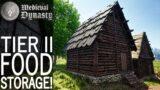 Tier II Food Storage! | Medieval Dynasty Gameplay | EP 51