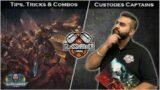 Tips, Tricks & Combo's – 2 Unkillable Shield Captains – Warhammer 40k