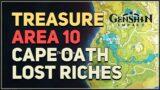 Treasure Area 10 Lost Riches Genshin Impact Cape Oath