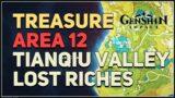 Treasure Area 12 Lost Riches Genshin Impact Tianqiu Valley