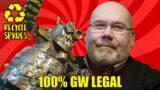 Turn Warhammer 40k Sprues into an Ork Stompa