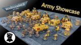 Warhammer 40k IMPERIAL FISTS Space Marine Army SHOWCASE | 3000+ list of Marines!
